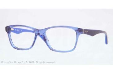 Vogue VO2787 Bifocal Prescription Eyeglasses 2063-51 - Striped Black Blue