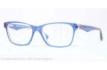 Vogue VO2787 Bifocal Prescription Eyeglasses 2171-51 - Top Blue/Transparent Frame