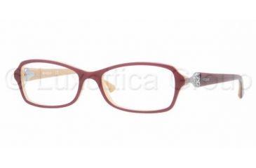 Vogue VO2789B Progressive Prescription Eyeglasses 1984-5216 - Top Violet / Sand Frame, Demo Lens Lenses