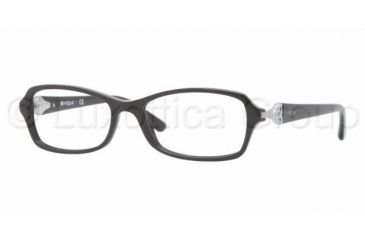 Vogue VO2789B Progressive Prescription Eyeglasses W44-5216 - Black Frame
