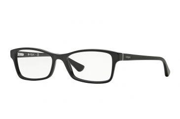 3634ad9d48 Vogue VO2886 Eyeglass Frames W44-51 - Black Frame
