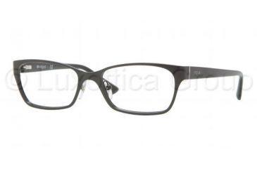 Vogue VO3816 Single Vision Prescription Eyeglasses 352-5116 - Black Frame