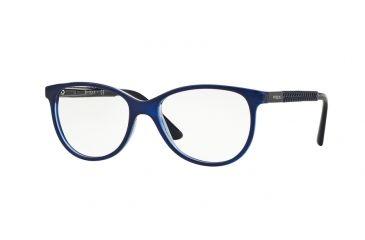 7edb826080 Vogue VO5030 Eyeglass Frames 2384-51 - Top Dark Blue violet Transp Frame