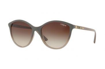 74b50ec65e0 Vogue VO5165S Sunglasses 255813-55 - Opal Grey Gradient Grey Frame