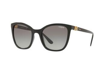 5b6589550d Vogue VO5243SB Sunglasses W44/11-53 - Black Frame, Grey Gradient Lenses