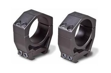 Vortex Precision Matched Riflescope Rings: High Height for 30mm (1.26 inches), (Set of 2) PMR-30-126
