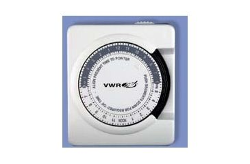 VWR 24-Hour and Seven-Day Dial Controllers 5070 Dial Controller, 7-Day