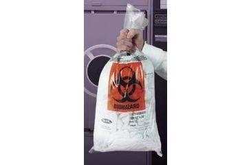 VWR Autoclavable Biohazard Bags, 1.5 mil 14220-020 Clear Bags, Plain