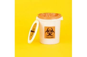 VWR Biohazard Bag Containers and Starter Kits 14221-156 Container Only