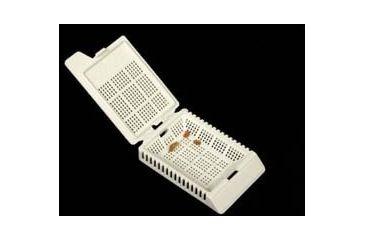 VWR Biopsy Processing/Embedding Cassettes VWR-650-7 Multichamber Biopsy Cassettes Orange