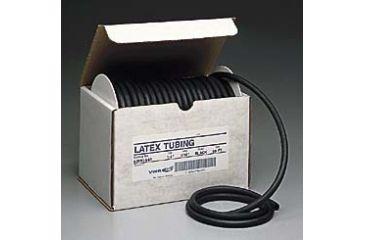 VWR Black Latex Rubber Tubing BL808R 50'' Reel Length