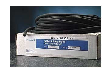 VWR Black Vacuum Rubber Tubing 9771 50'' Coil Length