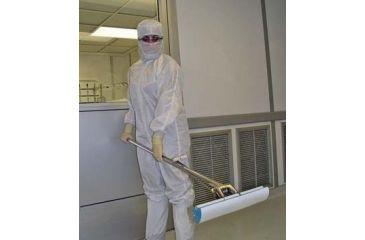 VWR Cleanroom Mop Sponge Roller Refills 150272 Microfiber-Laminated Refill With Stainless Steel Bracket