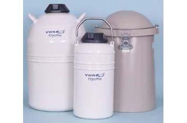 VWR CryoPro Vapor Shippers, V Series V-500 V-500 Vapor Shipper