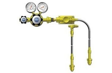 VWR Cylinder Manifolds for High-Purity Noncorrosive and Corrosive Gases 4702645 Brass Protocol Stations For Two Cylinders