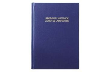 VWR English/French Good Laboratory Practice Notebooks 818-0081 Ruled Format A4