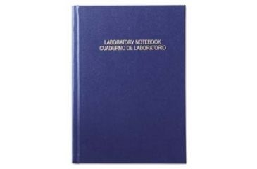 VWR English/Spanish Good Laboratory Practice Notebooks 818-0095 Grid Format A5