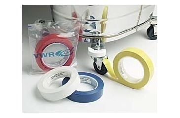 VWR General-Purpose Cleanroom Tape, Vinyl 1WH-47B