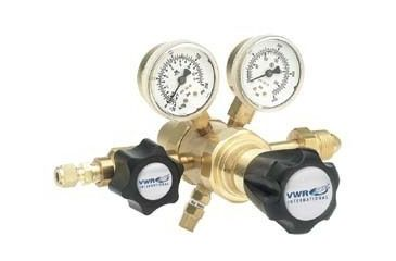 VWR High-Purity Two-Stage Gas Regulators, Brass 3300754