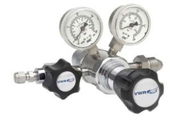 VWR High-Purity Two-Stage Gas Regulators, Stainless Steel 3300770