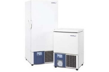 VWR Low-Temperature Upright and Ultra-Low Temperature Upright and Chest Freezers 5702 Ultra-Low Temperature Upright Freezers, Temperature Range -86 To -50°C