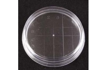 VWR Petri Dishes, Contact Plate, Sterile 3586 Convex Bottom, Outside Grid