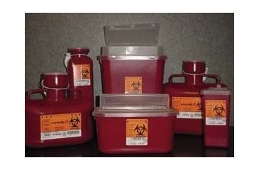 VWR Sharps Container Systems 8702V Stackable Sharps Containers Small