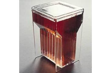 VWR Staining Jar with Cover, Hellendhal Type K355-VWR