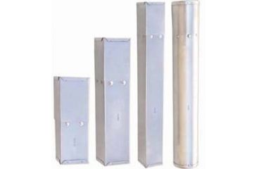 VWR Stainless Steel Pipet Sterilization Boxes 11648-225 Round