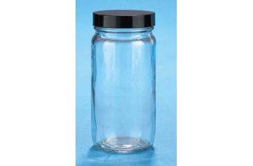 VWR Straight-Sided Glass Jars, Wide Mouth VW5511670B Bottles Only