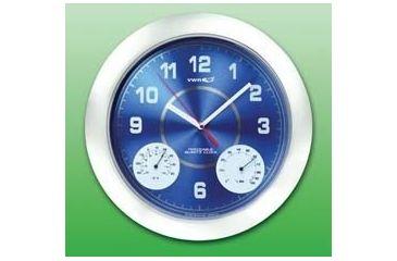 VWR Thermometer/Humidity Wall Clock 1071
