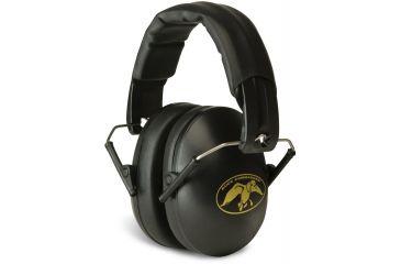 Walkers Duck Commander Ultra Lightweight Folding Ear Muffs, Black GWP-YMFM2-DC