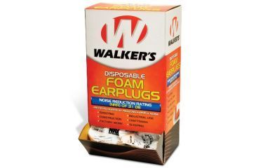 Walkers FOAM EAR PLUG 10PK BLISTER GWP-FP5PK
