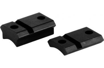 Warne Maxima 2 pc. Steel Base for J.C. Higgins, Mauser FN .860 RHS - Gloss Black M902/831G M902/831G