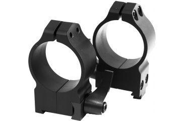Warne Maxima 30mm Quick Detach Riflescope Rings, High, Black, 19mm Dovetail - CZ 550