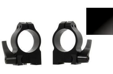 Warne Riflescope Rings for CZ 550 19mm, Quick Detach, Dovetail Medium, Gloss Finish, 30mm 14BLG