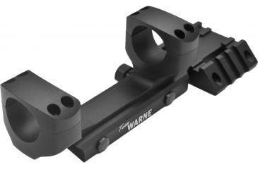 Warne Team Warne 30mm Tactical 1 PC Rapid Acquisition Multi-sight Platform, Matte Black