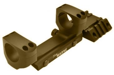 Warne Team Warne 30mm Tactical 1 PC Rapid Acquisition Multi-Sight Platform, Dark Earth Finish RAMP30DE
