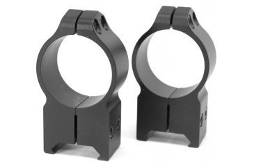 Warne X-High 30mm Permanently Attached Scope Rings w/Matte Finish 216M