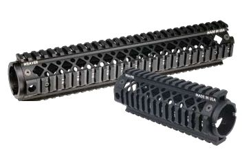 Blackhawk Ar15 Rifle Length 2-Piece Quad Rail Forend