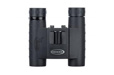Weaver Buck Commander 10X25 Compact Roof Prism Binocular, Black - 94586