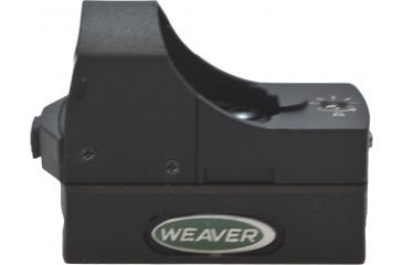 Weaver Micro Red Dot Sight, Black Matte 849255