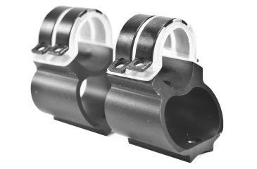 Weaver Steel Lock Mount, 1in, Rem 7400/7600 Black 49714