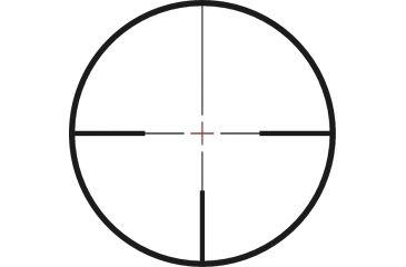 Weaver Super Slam 1.5-6x24 Matte Ill G4 30mm Riflescope 800375 Euro Style, Reticle