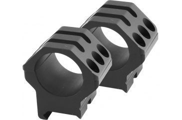Weaver Tactical 6-Hole Picatinny Rings, 1in, High, Matte - 99689