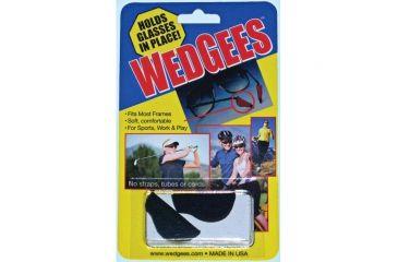 Wedgees  Retainer-black W0001 - BLACK SEWN
