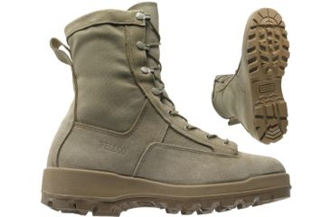 Wellco 80020-001 Military Boots - Desert Tan V-trax