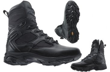 Wellco 72080-002 Uniform Boots - X-4orce 8in Tactical With Side Zip