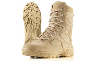 Wellco X-4orce Tan Tactical Lightweight Combat Boots, Size 3.5 Wide T180-35W