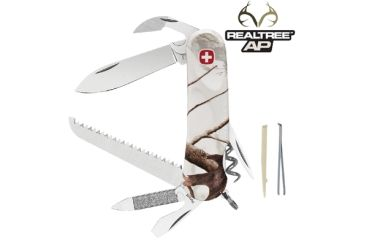 Wenger Realtree AP Snow 13 Swiss Army Knife, White Camo 16848
